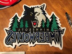 Minnesota Timberwolves Patch 9 Inches long Sweet Looking