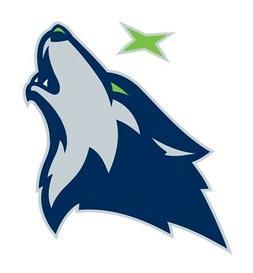 Minnesota Timberwolves  Precision Cut Decal / Sticker