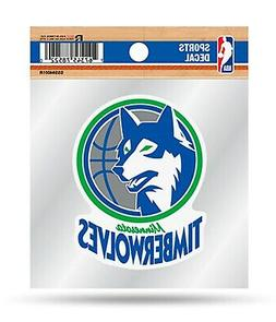 Minnesota Timberwolves Retro Logo Premium 4x4 Decal Auto Hom