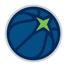 Minnesota Timberwolves Round  Precision Cut Decal / Sticker