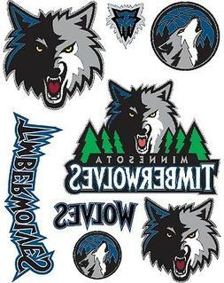 Minnesota Timberwolves Iron On T Shirt Pillowcase Fabric Tra