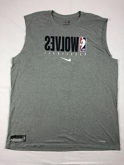 Minnesota Timberwolves Nike Sleeveless Shirt Men's NEW Multi