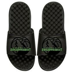 minnesota timberwolves tonal pop slide sandals black