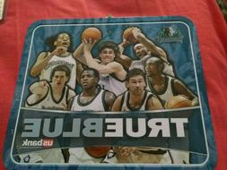 Minnesota Timberwolves True Blue Collectors Lunch Box