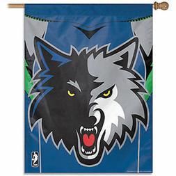 Minnesota Timberwolves Vertical Banner