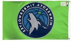 Minnesota Timberwolves WC GREEN Premium 3x5 Flag Outdoor Ban