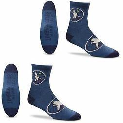 Minnesota Timberwolves Women's Quarter-Length Socks Two-Pack