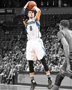 Minnesota Timberwolves ZACH LAVINE Glossy 8x10 Photo Spotlig