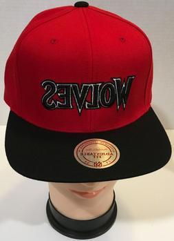 Mitchell & Ness Minnesota Timberwolves Strapback Hat