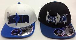 NBA Assorted Team Logo Adidas Flex Fit 2 in 1 Visor Cap Hat