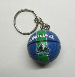 NBA Basketball Minnesota TIMBERWOLVES Ball KEY CHAIN Ring Ke