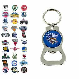 nba bottle opener keychain choose your team