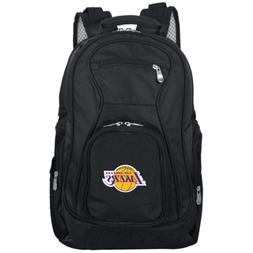 NBA Los Angeles Lakers Black Backpack Laptop