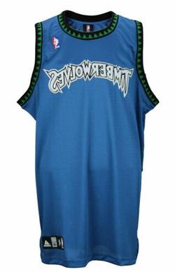 Adidas NBA Men's Minnesota Timberwolves Blank Basketball Jer