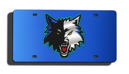 NBA Minnesota Timberwolves Laser-Cut Auto Tag