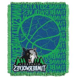 NBA Minnesota Timberwolves 48 x 60-Inch Double Play Jacquard