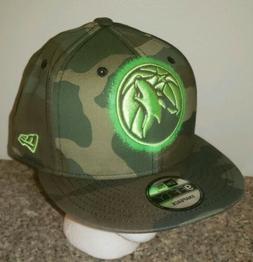 NBA Minnesota Timberwolves New Era 9FIFTY Camo Snapback Hat