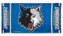 NBA Minnesota Timberwolves Design Beach Towel - Slate Blue