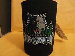NBA Minnesota Timberwolves Can Holder BOTTLE Cooler LICENSED