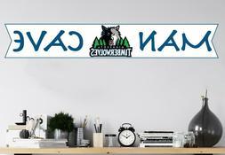 NBA Minnesota Timberwolves Logo Wall Decal Basketball Man Ca