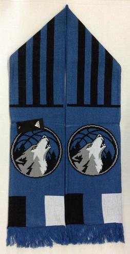 nba minnesota timberwolves winter knit fringe scarf