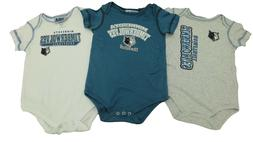 NBA Official Minnesota Timberwolves Baby Infant 3 Piece Cree