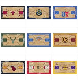 "NBA Teams Court Runner Mat Area Rugs Multiple 24"" x 44"" Bask"