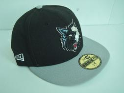 NEW NEW ERA 59Fifty Minnesota Timberwolves Basketball NBA Ba