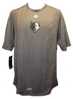 New Minnesota Timberwolves Mens Sizes M-L-XL Adidas NBA Fusi