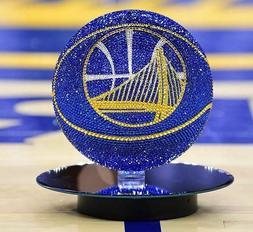 NEW NBA Basketball Made with Swarovski® Crystals + Case - A