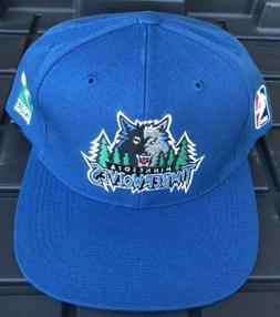 NWOT Vintage Minnesota Timberwolves Sports Specialties Snapb