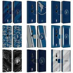 OFFICIAL NBA MINNESOTA TIMBERWOLVES LEATHER BOOK CASE FOR SO