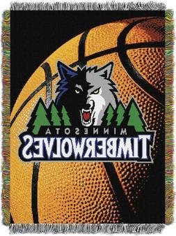 "Rare NBA Minnesota TIMBERWOLVES Woven Tapestry 48""x60"" Wall"