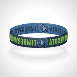 Reversible Minnesota Timberwolves Bracelet Wristband All Eye