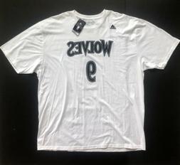 Ricky Rubio Minnesota Timberwolves adidas Go-To White Jersey