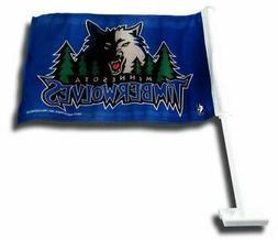 Rico Industries NBA Minnesota Timberwolves Car Flag