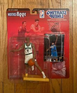 Stephon Marbury 1998 - Minnesota Timberwolves - Starting Lin