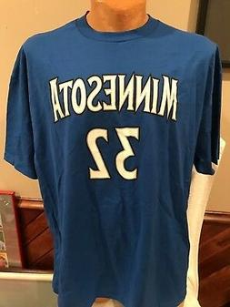 SWEET Karl-Anthony Towns Minnesota Timberwolves Men's XL Jer