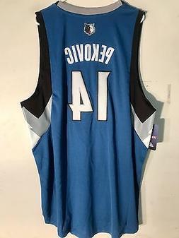 Adidas Swingman NBA Jersey Minnesota Timberwolves Pekovic Bl