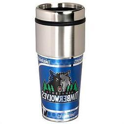 Travel Tumbler 16 oz Stainless Steel mug Plastic Insert Minn