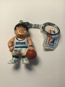 Vintage NBA Minnesota Timberwolves Lil' Sports Brat Keycha