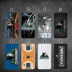 wallet case Minnesota Timberwolves iphone 7 iphone 6 6+ 5 7
