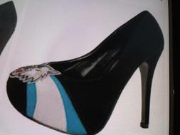 Women HerStar MINNESOTA TIMBERWOLVES Footwear Suede Pump Siz